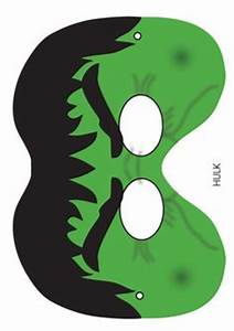 avengers mask template - superheroes mask the hulk sensaciones para fiestas