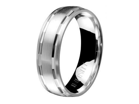 Platinum Male Wedding Bands