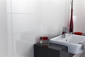 White bathroom tiles home design for Cheap wall tiles for bathroom