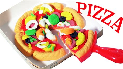 play doh cuisine play doh pizza set cooking meal playdough doh food playset toys