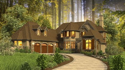 Cottage House Plan 2470 The Rivendell Manor