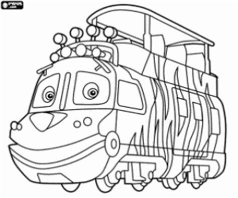 disegni  chuggington da colorare  stampare