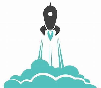 Launch Rocket Clipart Plan Transparent Marketing Background