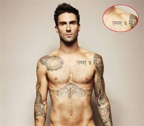 a new life hartz: Adam Levine and Full Tattoos on his body