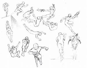 Action poses 4 leaping, diving by shinsengumi77.deviantart ...