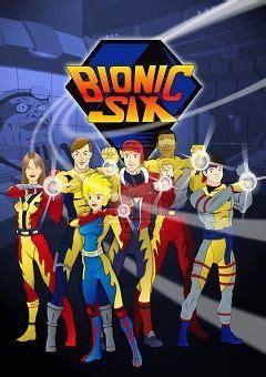 bionic   cartoons   anime