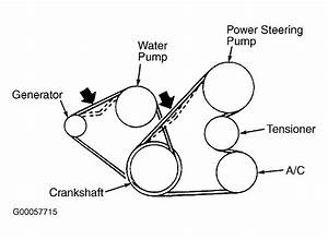 2002 Mitsubishi Montero Serpentine Belt Routing And Timing