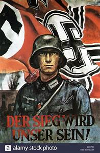 1942 NAZI poster proclaims Victory will be Ours Stock ...