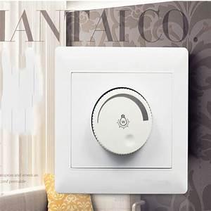 Lighting control ceiling fan speed switch wall