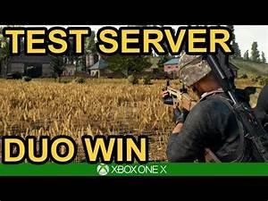 CHICKEN DINNER ON PTS PUBG Xbox One X YouTube