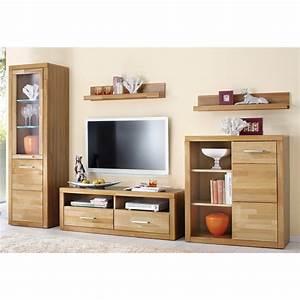 Ensemble Meuble Tv Conforama : meuble salon en bois ~ Dailycaller-alerts.com Idées de Décoration