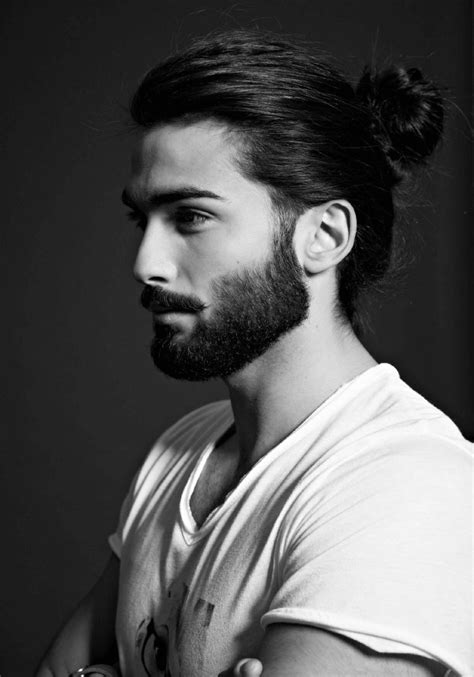 mittellange haare mann mittellange haare frisuren m 228 nner stylen m 228 nnerfrisuren lang bun hairstyles beard
