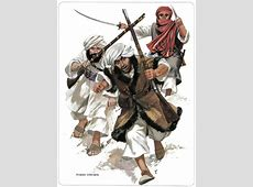 Afghan Pashtun Pathan Warrior Frontier Tribesmen Anglo Afg