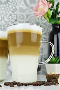 Latte Macchiato Löffel : 2 latte macchiato gl ser 400ml mit henkel und 2 edelstahl ~ A.2002-acura-tl-radio.info Haus und Dekorationen