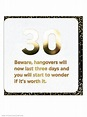 30th Birthday Age Card Funny Comedy Humour Novelty Cheeky ...