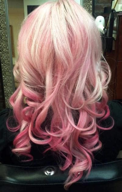 Great Haircolor Candy Colored Pastel Sweets For The Hair