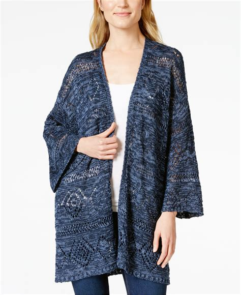 style and co sweaters style co kimono sleeve knit cardigan only at macy 39 s in