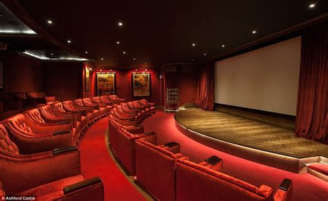 The Entrance Of A Cinema Hotel Or Theatre by Ashford Castle In Ireland Is A Mix Of Refined Luxury And