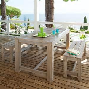 Table Banc Jardin by Table Jardin Avec Banc