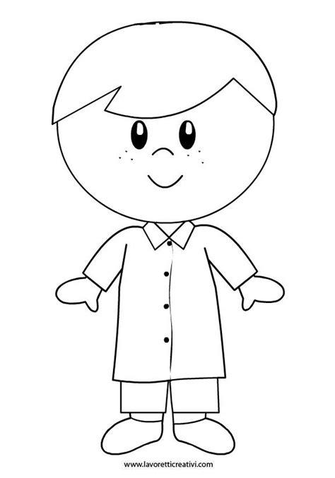 disegno bambina facile bambino grembiule scuola inicio ano drawing for