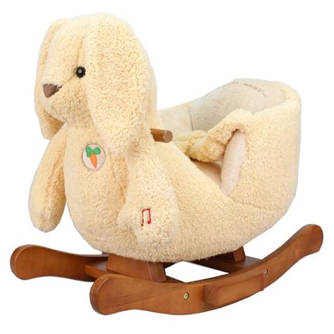 new baby toddler rocker rocking animal bunny chair seat ebay