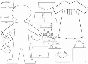 Paper Doll Dress Template Wallpaper