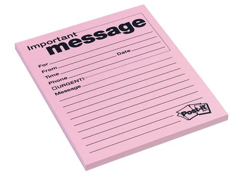 message pads templates telephone message pad school