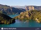 Camarasa Reservoir, Lleida province, Catalonia, Spain ...