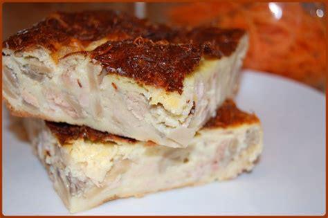 recette quiche au thon sans pate quiche au thon et chignons sans p 226 te recette