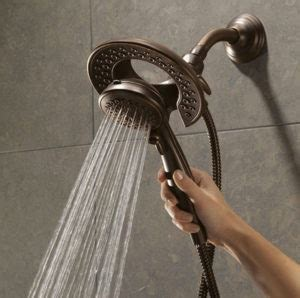 delta shower best dual shower 2018 top two person