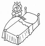Bed Drawing Coloring Pages Getdrawings sketch template