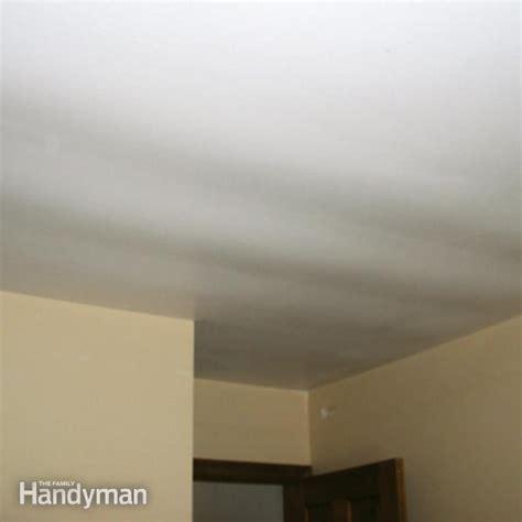 ceiling repair fix  sagging ceiling  family handyman
