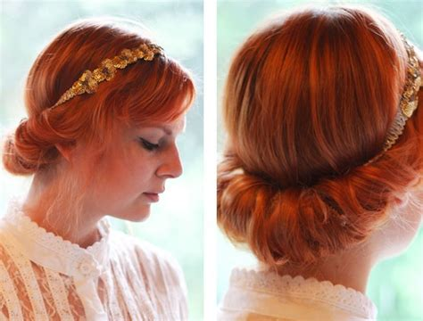 Easy Updo Hairstyle Tutorials by Vintage Updo Hairdo Tutorial Easy Updo Hairstyles For