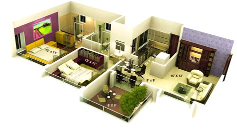 home interior plan square house plans indian style bedroom plan in