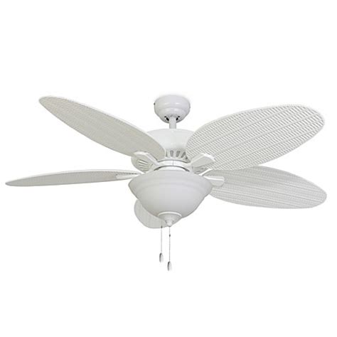 52 inch white ceiling fan 52 inch coconut grove bowl light white ceiling fan bed