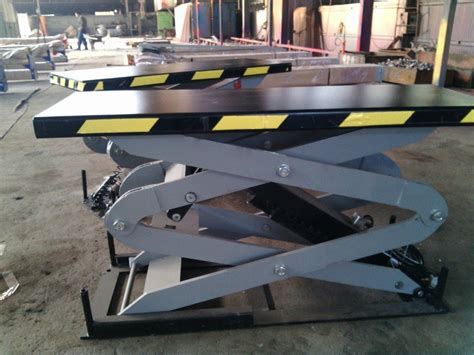 3.5 Ton Scissor Lift In Ground Car Lift Portable Lift With