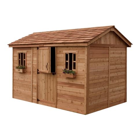 does lowes install sheds shop outdoor living today common 12 ft x 8 ft interior
