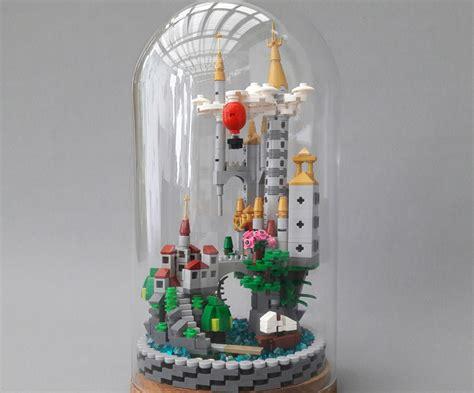 lego trifft auf ikea schloss  der glasglocke
