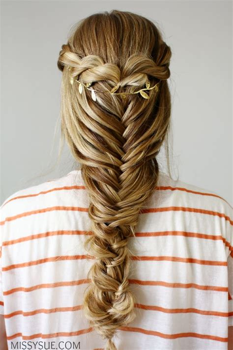 hair braid styles rope twist fishtail braid hair tutorials 5324