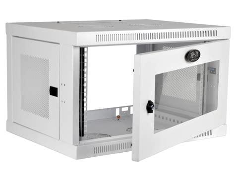 smartrack 6u wall mount rack enclosure cabinet tripp lite srw6uwg smartrack 6u low profile switch depth