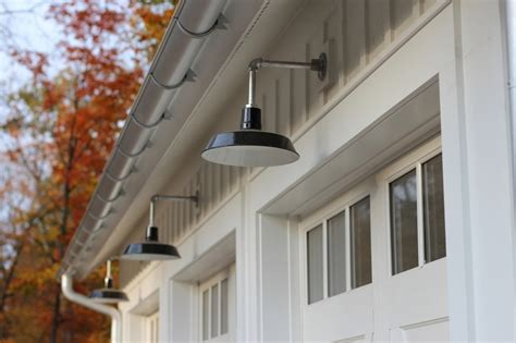 modern farmhouse exterior lighting barn lighting offers authentic feel in modern farmhouse