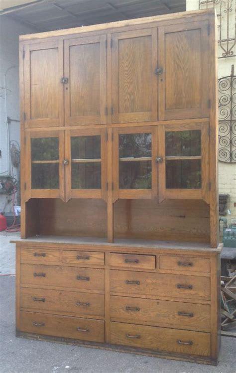 antique kitchen storage antique oak tree with storage seat butler pantry 1284