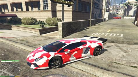 Red Camo Lamborghini Pictures To Pin On Pinterest Pinsdaddy