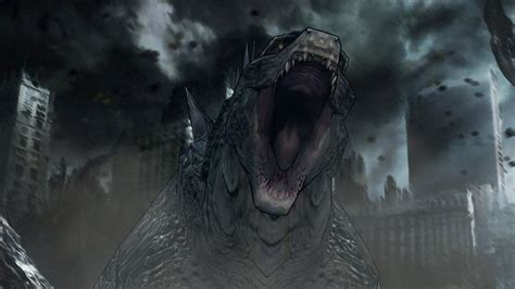 Godzilla (2014) Hd Wallpaper