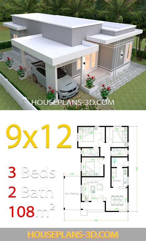 house design plans    bedrooms terrace roof house plans