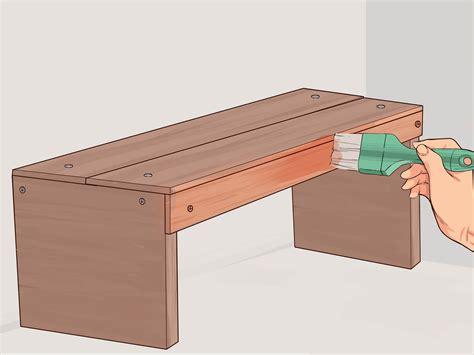 Costruire Una Panchina In Legno by 3 Modi Per Costruire Una Panchina Wikihow