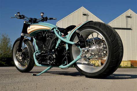 French Harley-davidson Bobber Motorcycle