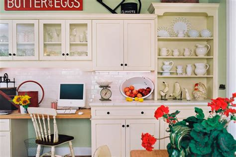 10 ideas for decorating above kitchen cabinets hgtv
