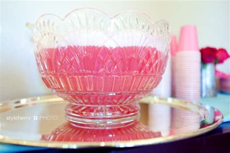 Pink Punch For Baby Shower - pink punch styleberryparty pt 5 187 styleberry