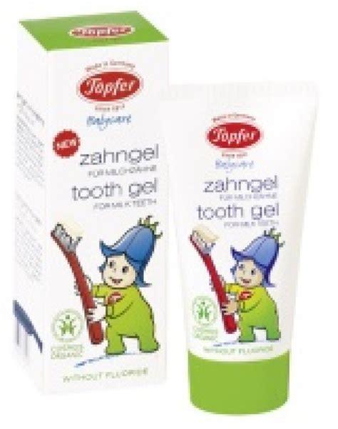 Topfer gēls piena zobu tīrīšanai ar kliņģerītēm, 50 ml ...